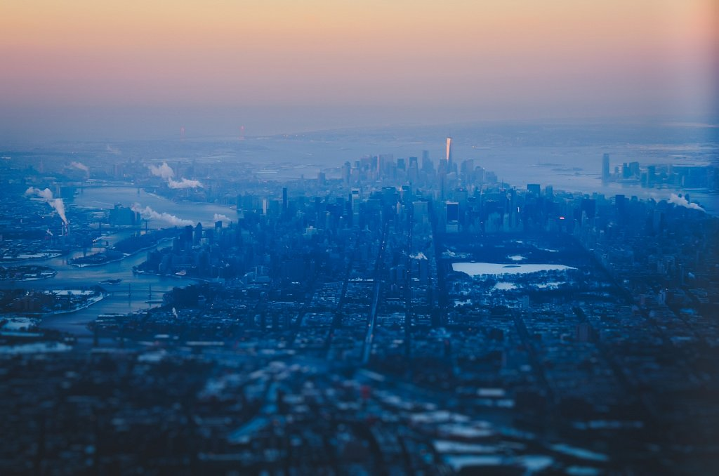 Cold morning above NYC #02