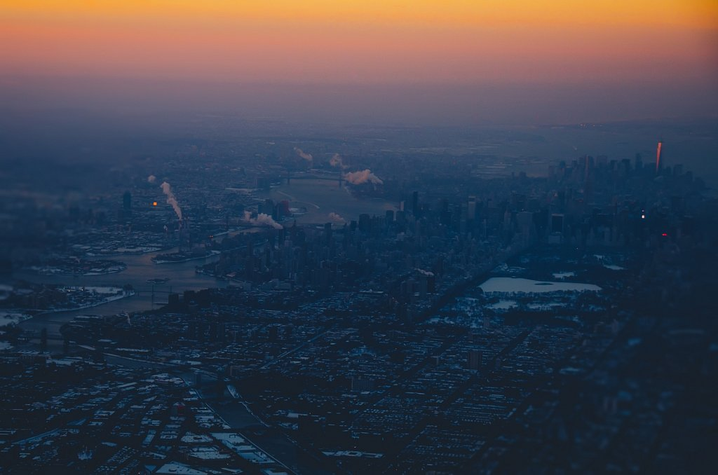Cold morning above NYC #03