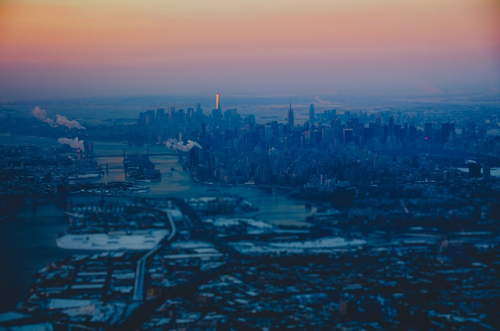 Cold morning above NYC #06
